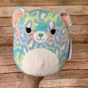 Squishmallow Lindsay The Cheetah Blue NEW